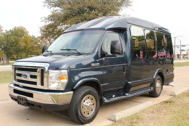 2015 Ford E-350 14 Passenger Turtle Top Van Terra Mini Bus W/ Co-Pilot Seat Irving, Texas 4