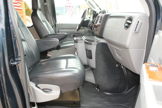 2015 Ford E-350 14 Passenger Turtle Top Van Terra Mini Bus W/ Co-Pilot Seat Irving, Texas 62