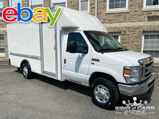 2015 Ford E-350 Walk In Service CONTRACTOR VAN 1-OWNER LOW MILES MINT