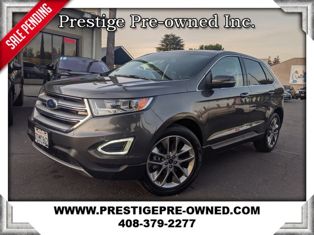 2015 Ford EDGE TITANIUM ((**NAVIGATION & BACK-UP CAMERA**)) in Campbell, CA 95008