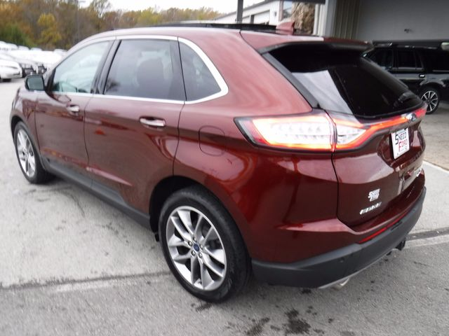 2015 Ford Edge Titanium AWD V6 in Gower Missouri, 64454