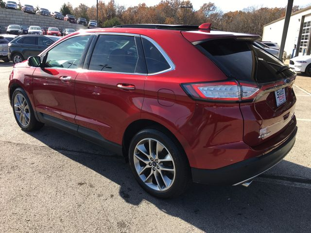 2015 Ford Edge Titanium V6 in Gower Missouri, 64454
