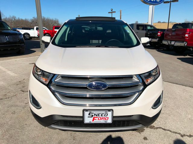 2015 Ford Edge Titanium AWD 2.0L I4 in Gower Missouri, 64454