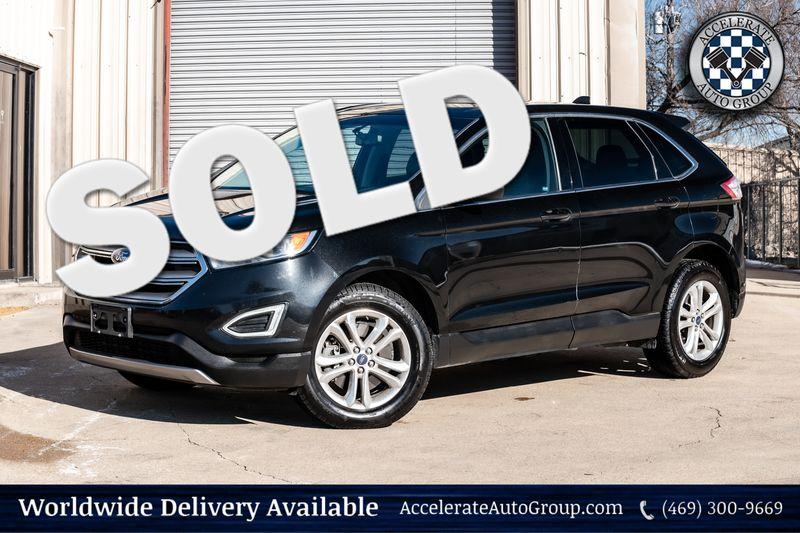 2015 Ford Edge SEL CLEAN CARFAX AWD LEATHER AUTO TRANS BLUETOOTH in Rowlett Texas