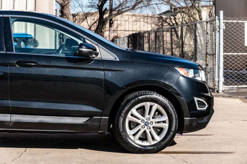 2015 Ford Edge SEL CLEAN CARFAX AWD LEATHER AUTO TRANS BLUETOOTH in Rowlett, Texas