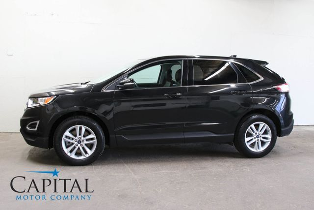 2015 Ford Edge SEL AWD Luxury Crossover w/Navigation, Backup Cam, SYNC Audio & HUGE Panoramic Moonroof in Eau Claire, Wisconsin 54703