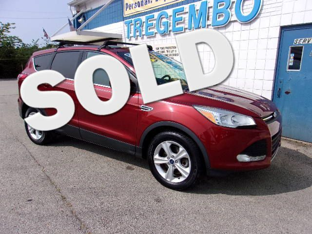 2015 Ford Escape 4WD SE Roof