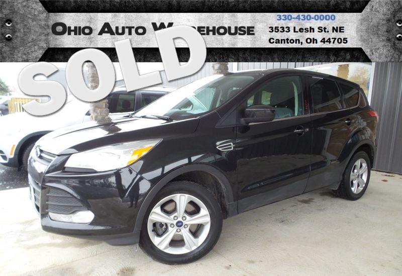 2017 Ford Escape Se Ecoboost 30 Mpg Highway We Finance Canton Ohio Auto Warehouse Llc