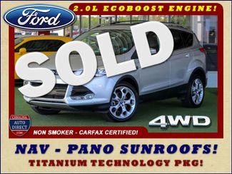 2015 Ford Escape Titanium 4WD - NAVIGATION-SUNROOF-BLIS! Mooresville , NC