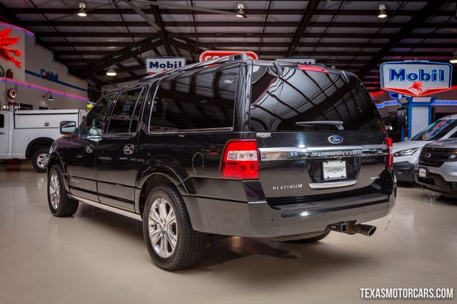 2015 Ford Expedition EL Platinum 4X4 in Addison Texas, 75001
