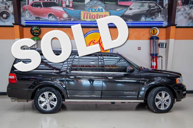 2015 Ford Expedition EL Platinum 4x4