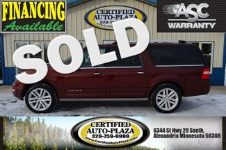 2015 Ford Expedition EL Platinum in  Minnesota