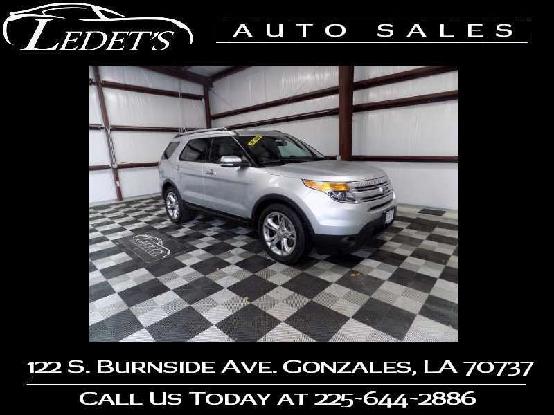 2015 Ford Explorer Limited - Ledet's Auto Sales Gonzales_state_zip in Gonzales Louisiana