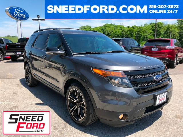 2015 Ford Explorer Sport 4X4 in Gower Missouri, 64454