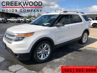2015 Ford Explorer XLT White Low Miles Leather Nav Sunroof Chrome 20s in Searcy, AR 72143