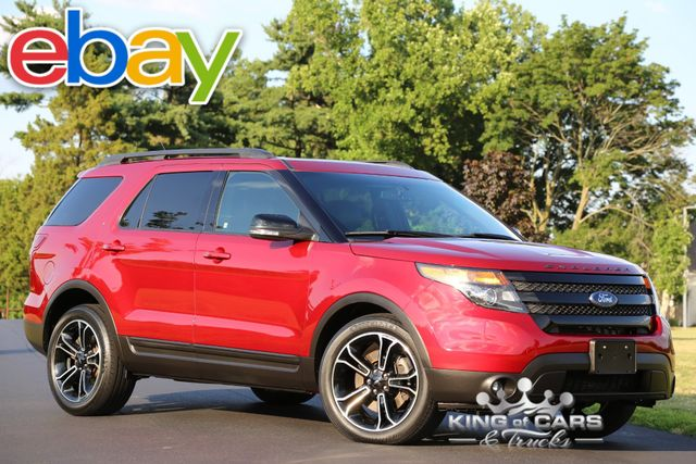 2015 Ford Explorer Sport 3.5L ECOBOOST 44K ACTUAL MILES 1-OWNER 4X4