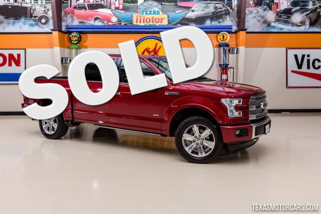 2015 Ford F-150 Platinum 4X4