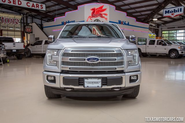 2015 Ford F-150 Platinum 4X4 in Addison Texas, 75001