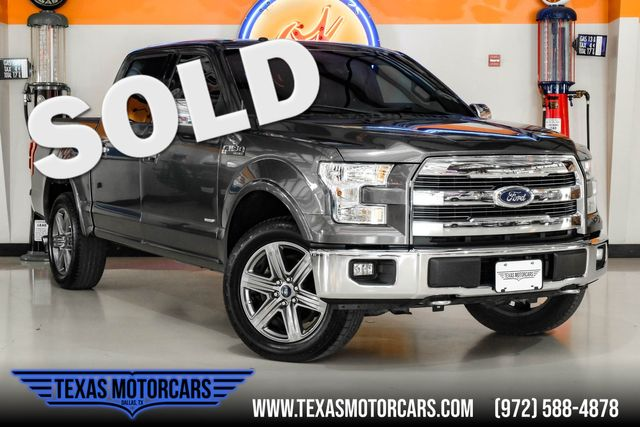 2015 Ford F-150 Lariat 4x4 in Plano, TX 75075