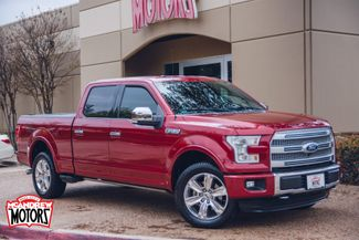 2015 Ford F-150 Crew Cab Platinum 4x4 in Arlington, Texas 76013