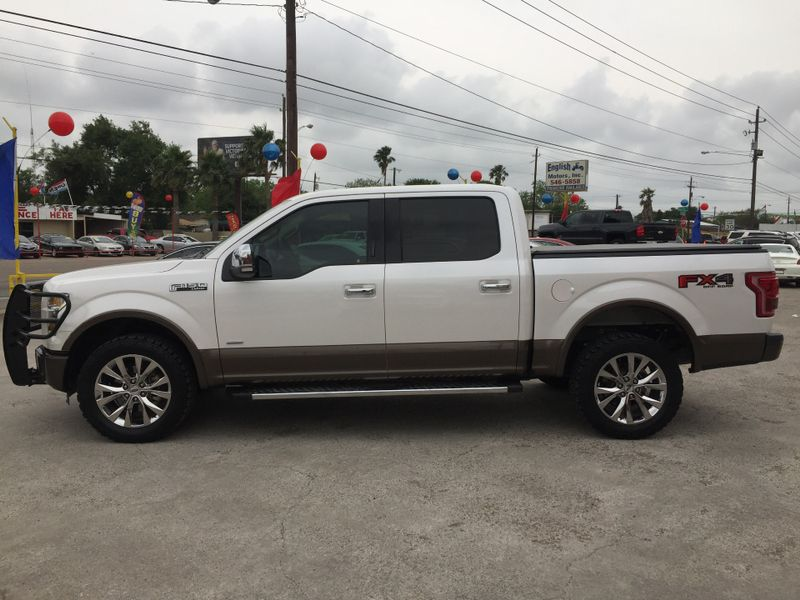 2015 Ford F-150 Lariat  Brownsville TX  English Motors  in Brownsville, TX
