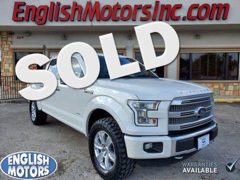 2015 Ford F-150 Platinum in Brownsville, TX