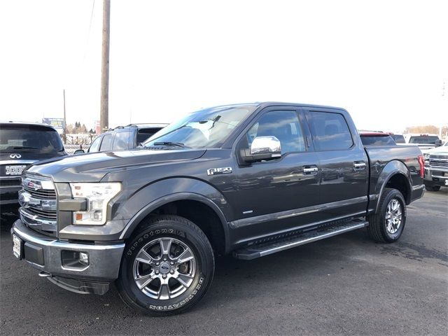 2015 Ford F-150 Lariat FX4 4x4 Crew 1-Own Cln Carfax We Finance | Canton, Ohio | Ohio Auto Warehouse LLC in Canton Ohio