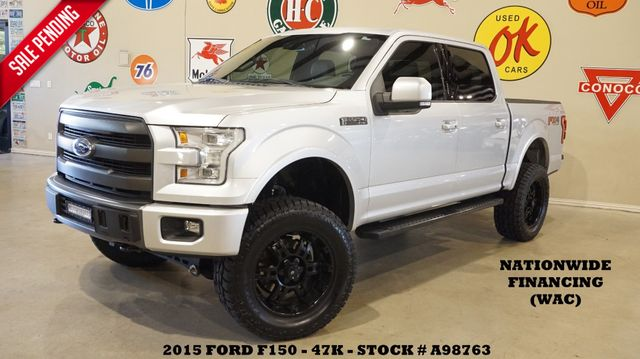 2015 Ford F-150 Lariat FX4 LIFTED,PANO ROOF,NAV,HTD/COOL LTH,47K