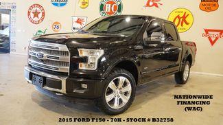 2015 Ford F-150 Platinum 4X4 PANO ROOF,NAV,360 CAM,70K,WE FINANCE in Carrollton, TX 75006