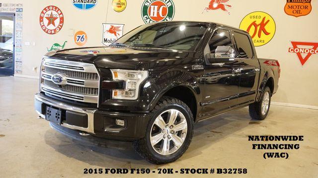2015 Ford F-150 Platinum 4X4 PANO ROOF,NAV,360 CAM,70K,WE FINANCE