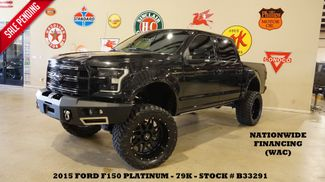 2015 Ford F-150 Platinum 4X4 LIFTED,BUMPERS,ROOF,360 CAM,22'S,79K in Carrollton, TX 75006