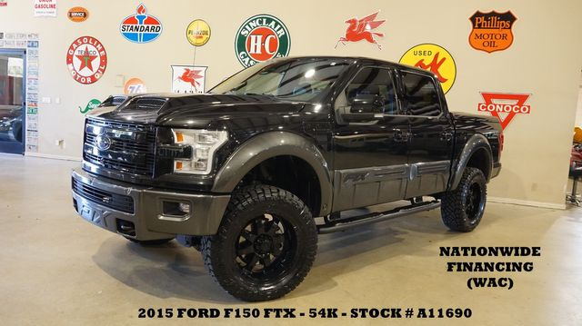 2015 Ford F-150 Lariat TUSCANY FTX 4X4,LIFT,PANO ROOF,360 CAM,54K