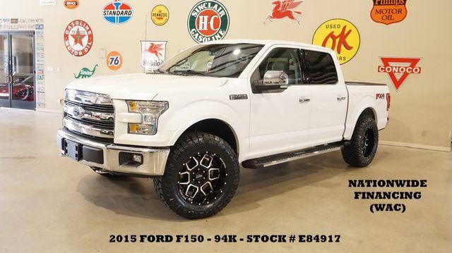 2015 Ford F-150 Lariat 4X4 LIFTED,SUNROOF,NAV,HTD/COOL LTH,94K in Carrollton, TX 75006