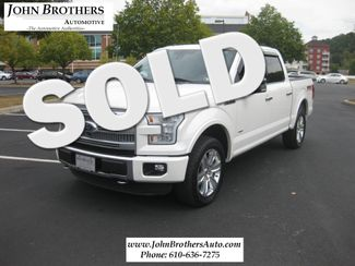 2015 Ford F-150 Platinum Conshohocken, Pennsylvania