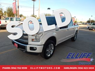 2015 Ford F-150 Platinum Super Crew 4x4 in Harlingen, TX 78550