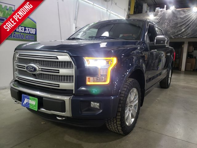 2015 Ford F-150 Platinum 12/12 Warranty included