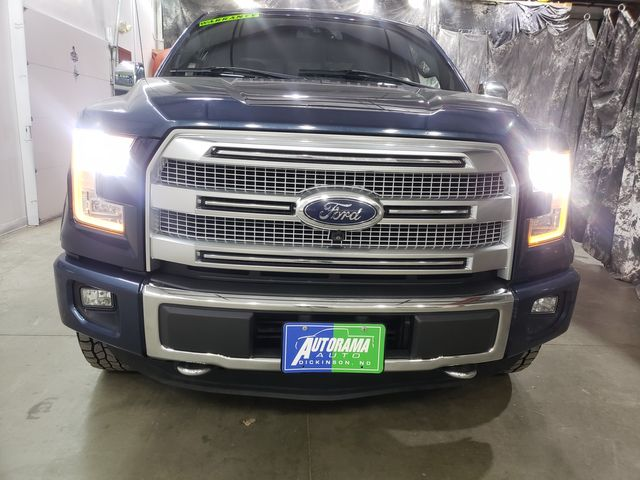 2015 Ford F-150 Platinum 12/12 Warranty included in Dickinson, ND 58601