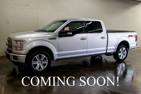 2015 Ford F-150 Platinum Crew Cab 4x4 w/ECOBOOST V6, Navigation, 360º Camera, Heated/Cooled Seats & 20s in Eau Claire