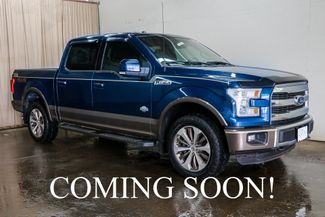 2015 Ford F-150 King Ranch w/Nav, Backup Cam, Heated  in Eau Claire, Wisconsin