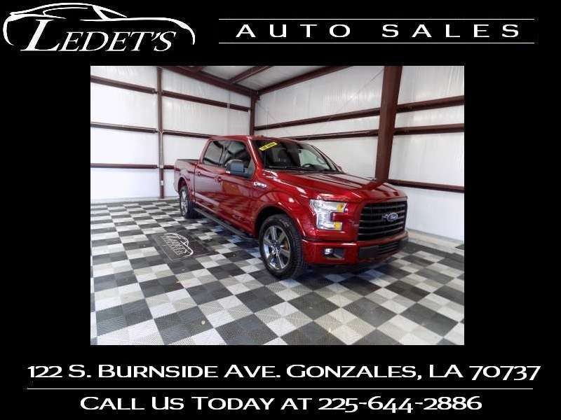 2015 Ford F-150 XLT - Ledet's Auto Sales Gonzales_state_zip in Gonzales Louisiana