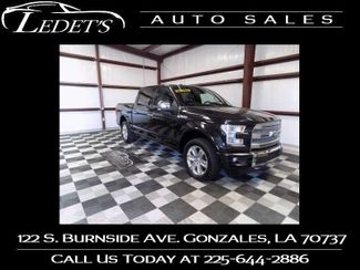 2015 Ford F-150 Platinum - Ledet's Auto Sales Gonzales_state_zip in Gonzales