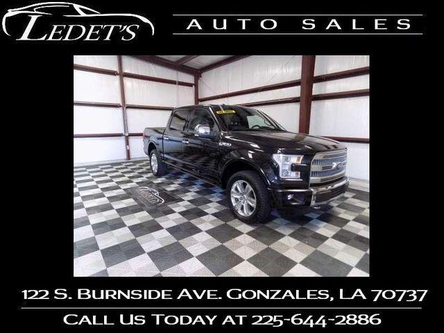2015 Ford F-150 Platinum - Ledet's Auto Sales Gonzales_state_zip in Gonzales