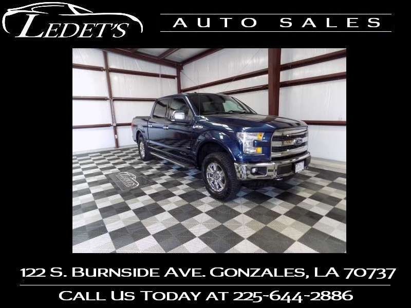 2015 Ford F-150 Lariat - Ledet's Auto Sales Gonzales_state_zip in Gonzales Louisiana