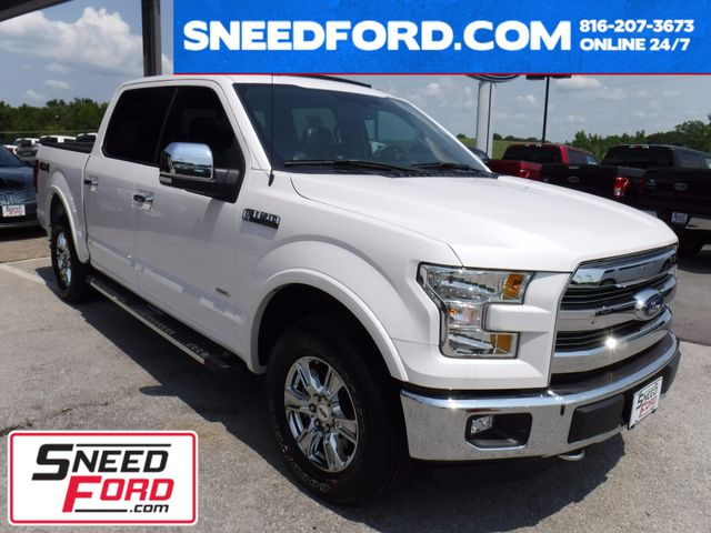2015 Ford F-150 Lariat 4X4 2.7L V6 Ecoboost in Gower Missouri, 64454