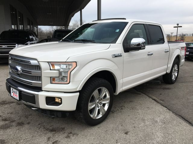 2015 Ford F-150 Platinum 4X4 in Gower Missouri, 64454
