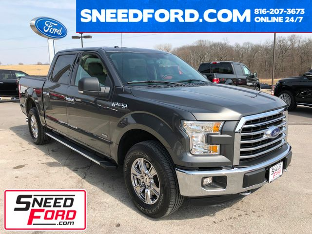 2015 Ford F-150 XLT 4X4 3.5L Ecoboost in Gower Missouri, 64454