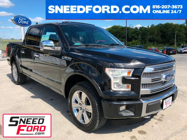 2015 Ford F-150 Platinum 4X4 5.0L V8 in Gower Missouri, 64454