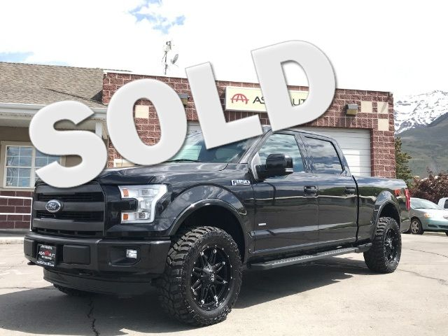 2015 Ford F-150 Lariat SuperCrew 6.5-ft. Bed 4WD LINDON, UT