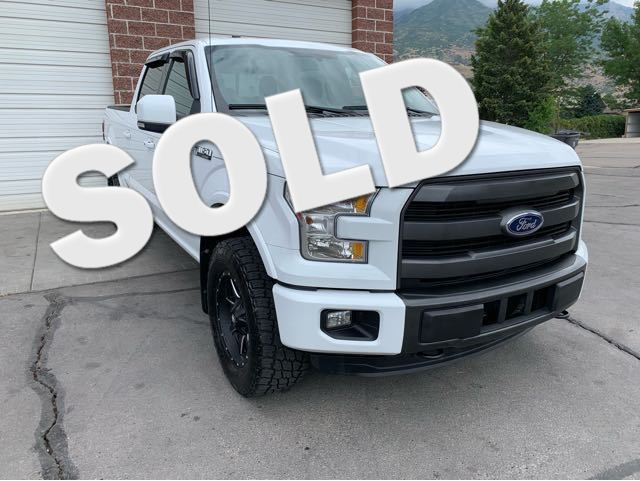 2015 Ford F-150 XL SuperCrew 5.5-ft. Bed 4WD LINDON, UT