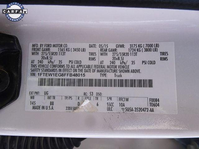 2015 Ford F-150 Platinum Madison, NC 59
